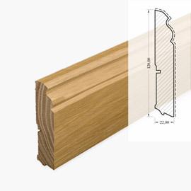 монтаж деревянного плинтуса цена