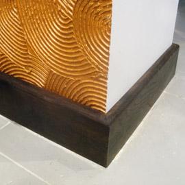 монтаж деревянного плинтуса стоимость