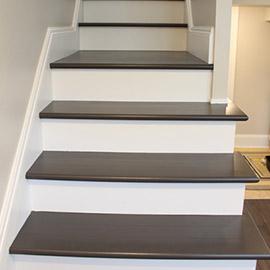 лакировка лестницы