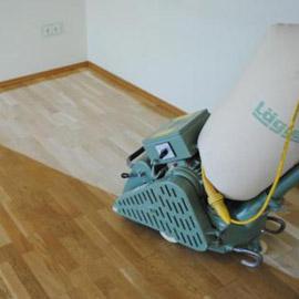 циклевать паркет без пыли